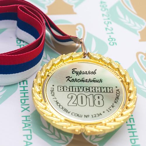 данного открытка медалисту созданы